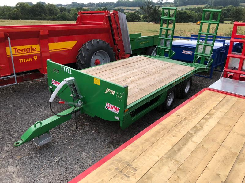 JPM Mini Low Loader 11 Tonne
