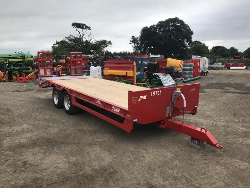 JPM 19 Tonne 25ft Low Loader