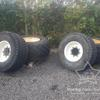 Floatations Wheels off Claas/Renault