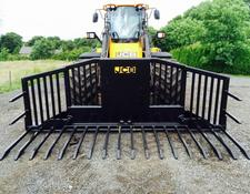JCB New & Unused Albutt 14ft Hydraulic folding Buckrake