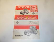STEYR 9078 / 9086 / 9094 und 9105a - 9145a High-Tech