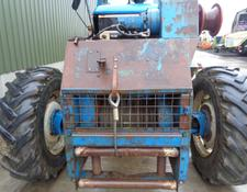 Ford 8210 winching tractor