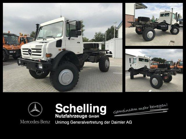 Mercedes-Benz U 5000 - Wohnmobil - Expedition -Kran Drilling
