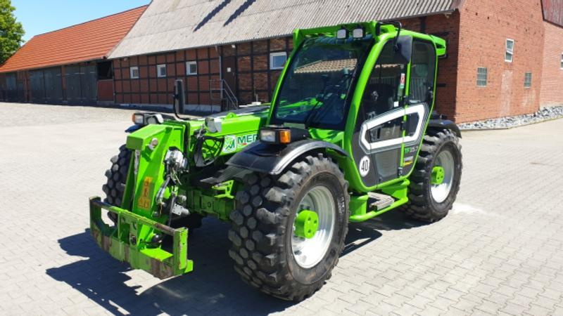 Merlo TF 35.7 - 120  40km/h mit Fz Brief