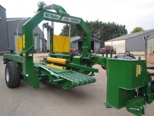 McHale McHale 998 High Speed bale wrapper
